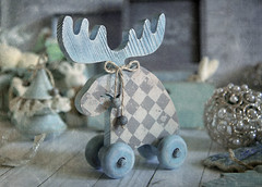waiting for Christmas (Button-NK) Tags: christmas newyear stilllife subjectphotography holiday joy childhood decorationforthechristmastree newyearstoys christmasdecorations decoupage hobby