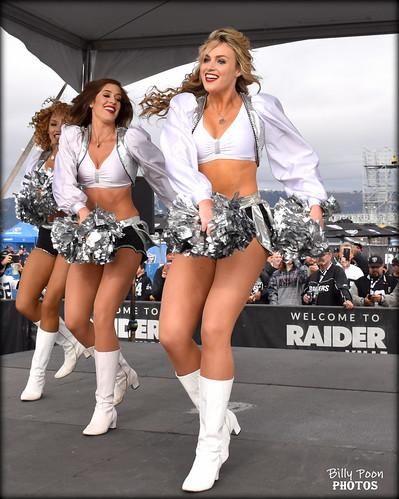 2017 Oakland Raiderette Noelle
