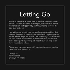 Letting Go Project (Priyanka Badlani) Tags: thesis school art artist graphicdesign photography lettinggo memory emotional emotions memories book community project pratt graphicdesigner design communication