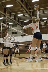 Women's Volleyball: Chabot at West Valley (9/29/17) (davidmoore326) Tags: volleyball womens sports athletics college education west valley chabot photography photo camera image dslr cccaa community juco coast conference saratoga california unitedstatesofamerica