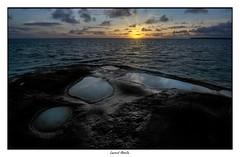 Sunrise (Laurent Asselin) Tags: sunrise leverdesoleil aube soleil lumière rayons ciel nuages couleurs flaques eau mer océan paysage kourou guyane