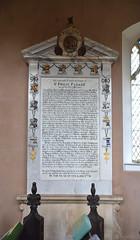 Sir Philip Parker's ancestors, 1736 (Simon_K) Tags: erwarton suffolk eastanglia church churches