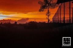 Tropical Sunset (izzaidaniia) Tags: tropical sun sunny orange naranja rain sol atardecer