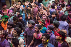 Sikkim, India (David Ducoin) Tags: asia colors crowd diwali festival himalaya hindou india men menonly sikkim westbengal gangtok in