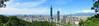 台北101全景-涼亭角度 (inorsis) Tags: 台北101 象山 天空 台北城 taipei 101 panarama