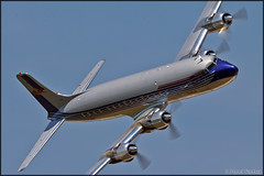 Douglas DC-6B (Pavel Vanka) Tags: douglas dc6b dc6 passengerplane redbull lkpd pardubice airshow czechrepublic aviationfair plane airplane spotting aircraft fly spot flying propeller