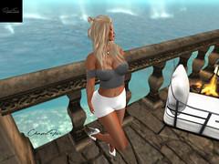 #41# (chanelfive5) Tags: darkfire top shorts sea