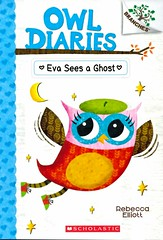 Eva Sees a Ghost (Vernon Barford School Library) Tags: rebeccaelliot rebecca elliot owldiaries owls birds diary diaries beliefanddoubt belief doubt ghoststories ghosts school schools readinglevel grade2 rl2 vernon barford library libraries new recent book books read reading reads junior high middle vernonbarford fiction fictional novel novels paperback paperbacks softcover softcovers covers cover bookcover bookcovers quick quickread quickreads qr 2 two 2nd second 9780545825573