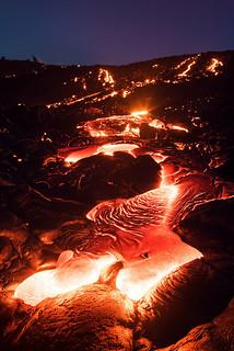 Lava After Sundown