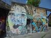 love rain/ fuck yoko (en-ri) Tags: vr nero oro azzurro mr deerm ragazza girl bianco milano wall muro graffiti writing 2016 volto faccia face viso