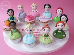 Princess Cupcakes (The Clever Little Cupcake Company) Tags: novelty celebration