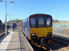 150265 & 150104 St Erth (5) (Marky7890) Tags: gwr 150104 150265 class150 sprinter 2a17 sterth cornishmainline stivesbayline railway cornwall train