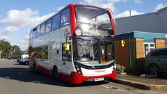 YN67YJP 15307 Birmingham 051017 (ade torquay) Tags: hop12 stagecoach torquay birmingham scania yn67yjp 15307