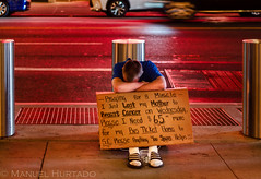 Hell in Manhattan (ManuelHurtado) Tags: countries ny nyc newyork places america beg beggar beggary city hobo homeless manhattan poor urban usa estadosunidos us