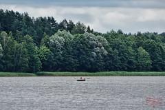Lonely (Jurek.P) Tags: lake boat mazury masuria poland polska gołdap water woda jezioro łódź jurekp sonya77