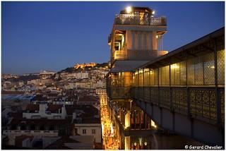 Lisboa - Elevador de Santa Justa.