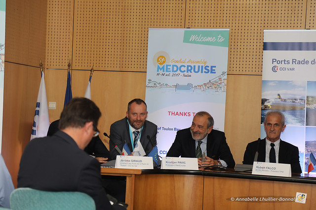 Conférence de Presse Medcruise