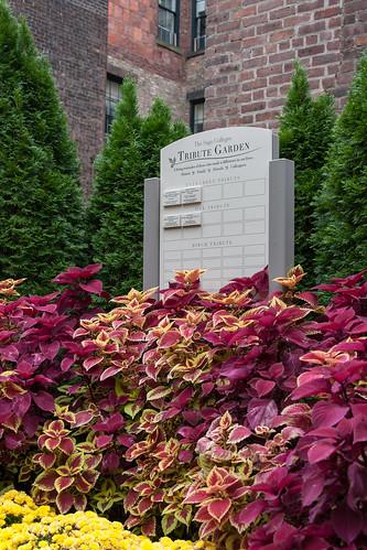 Tribute Garden in Troy