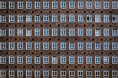 XXXXX (jonron239) Tags: brick expressionism hamburg architecture windows facade office building kontorhaus