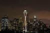 Twilight city *Explore (sarah_presh) Tags: seattle city lights skyline spaceneedle evening night dusk washingtonstate nikond750 nikon70200mm mist