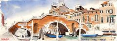 171006venezia02 (Vincent Desplanche) Tags: venise venezia sketching sketch croquis urbansketchers italia italy aquarelle watercolor matiteinviaggio seawhiteofbrighton seawhitesketchbook