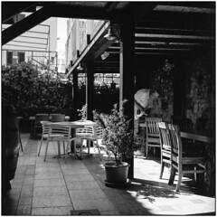 Konoba (Restaurant) (Koprek) Tags: rolleiflex28f ilford delta 100 film croatia novalja pag july 2017 summer