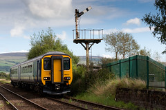 Down Foxfield Way (russell_w_b) Tags: foxfield millom cumbria dbso class156 ukrailtransport