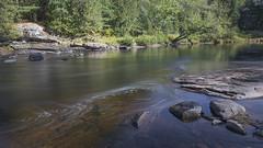 Fall in Muskoka, Ontario (twohamstersca) Tags: fall autumn muskoka ontario canada water rocks canon5d nature