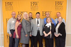 Athletic Hall of Fame class of 2017 (Baldwin Wallace University) Tags: bw baldwin wallace university athletic hall fame class 2017 hof sports athletics alumni baseball dave rozzo family