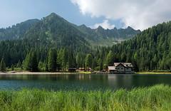 Lago di Nambino (marypink) Tags: lagonambino dolomitidibrenta gruppoadamellopresanella trentino lake sky summer estate rifugionambino m1768 nikond800 nikkor1635mmf40