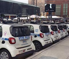P67_101717_04 (Mark Dalzell) Tags: pentax p67 6x7 120 220 slr camera kodak portra 400vc 400 vc film 2017 new york comiccon nycomiccon javits convention center nypd smart cars
