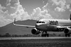 _MG_2783: Jetstar Airbus A320 (Peter ZZZ) Tags: 2017 a320 airshow airbus airport avalon bw blackwhite canonef100400mmf4556lisiiusm clouds cockpit engine jetstar outdoors plane runway sky takeoff taxi wheels