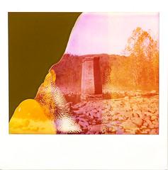 Spectra Bridge (DRCPhoto) Tags: polaroidspectra type1200softtone paulgiambarbaedition expiredfilm impossibleproject roidweek2017 westvirginia cheatriver