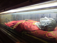 The relics of Santa Lucia, Chiesa di San Geremia, Venice