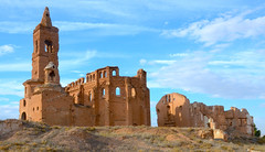 Ruinas de la batalla de Belchite, Zaragoza. (eustoquio.molina) Tags: belchite zaragoza guerra civil