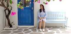 (grandia) Tags: huahin protonsuprimas travel thailand candy 第一天 blue white family santorini 聖托里尼