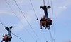 Weee! (ShannonVanB) Tags: branson missouri vacation nature fall zipline