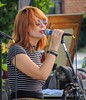 The Mowgil's (clarkcg photography) Tags: portrait redhead sunglasses mike vocals sing themowgils mondayfreetheme 7dwf katiejayneearl