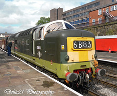 20110716-SAM_0878 (deltic21) Tags: deltic gordon highlander class 55 d9016 55016 brgreen eastlancs east lancashire lancs rail regiments railway railways rails british britishrail br bury elr napier 16 northwest north ramsbottom rammy rawtenstall heywood sye yellow patch coco ee english electric preservation preserved