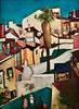 Lisbon back yards (1956) - Nikias Skapinakis (1931) (pedrosimoes7) Tags: nikiasskapinakis artgalleryandmuseums expression contemporaryartsociety art painting creativeartphotography