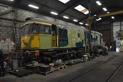 33021 on the Churnet Valley Railway (lewispix) Tags: class33 33021 diesel railway churnet valley