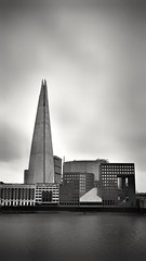Abstract composition (silviamancini) Tags: london londra londres theshard bw