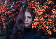 Portrait (Vagelis Pikoulas) Tags: canon portrait woman girl flowers greece tamron 70200mm vc 6d beautiful beauty model