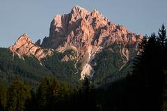 The sharp giant (luigig75) Tags: piccodivallandro dürrenstein trentinoaltoadige tirolo dolomiti 70d 70200f4l canonef70200mmf4lusm landscape mountains sunset braies italia italy