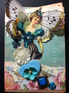Button Fairy ATC