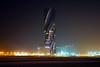 Bahrain by night. Wyndham Grand Manama (Andrey Sulitskiy) Tags: bahrain manama