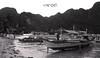 El Nido in mono (A. K. Hombre) Tags: elnido palawan beach sea boats shore water mono bnw blancoynegro landscape travel