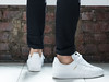 Sneakers (danielfoster437) Tags: 白い靴 adidasgazelle feet 足 歩く sneakers whiteshoes 靴 shoes walking adidasshoes