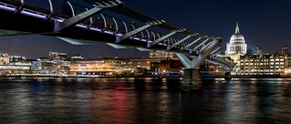 London; Millenium Bridge
