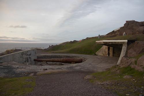 Cape Spear: WWII guns